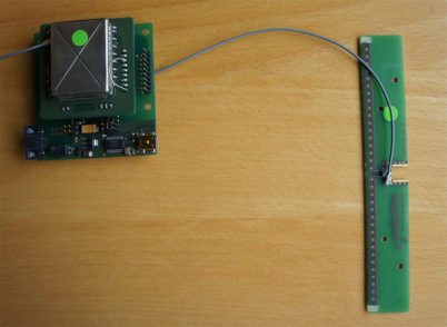 RFID uhf SMD med antenne