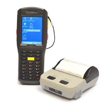 RFID scanner og mobil printer