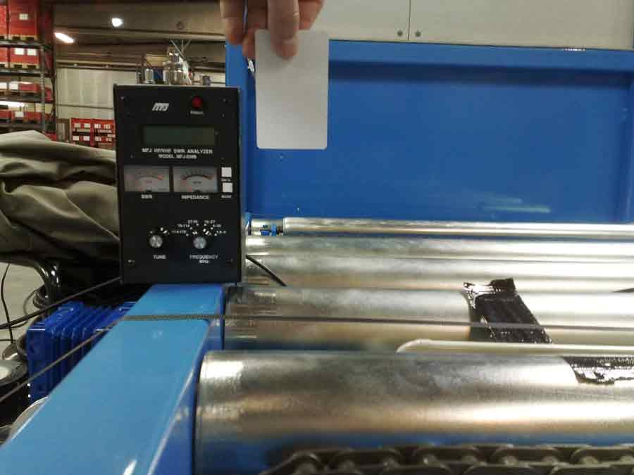 RFID anvendt i industri-produktion