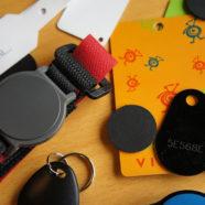 udvalg af RFID adgangsbrikker