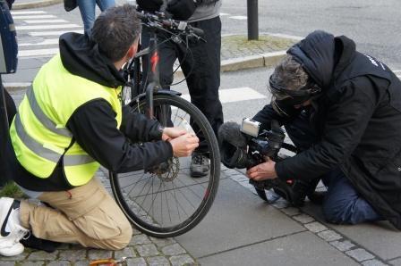 Lancering grønt lys til cykler