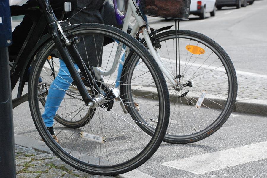 RFID cykel system giver grønt lys til cyklisterne i Aarhus centrum