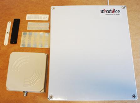 RFID boks tags læser
