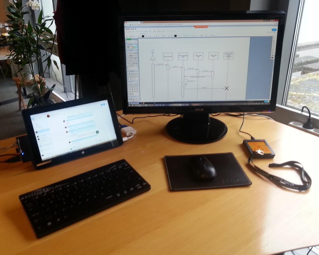 PEARL desktop