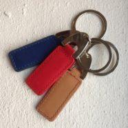 RFID læder nøglering