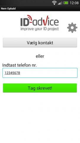 NFC app til Android og Windows tag skrevet