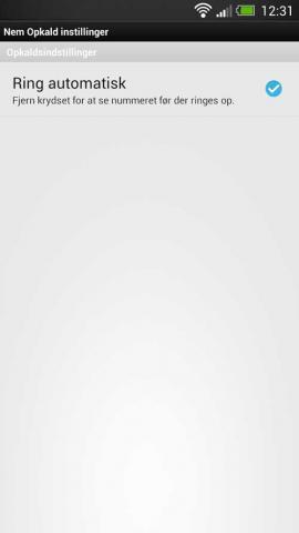 NFC app til Android og Windows ring automatisk